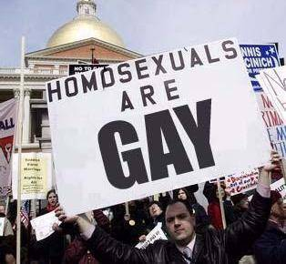 homos are gay