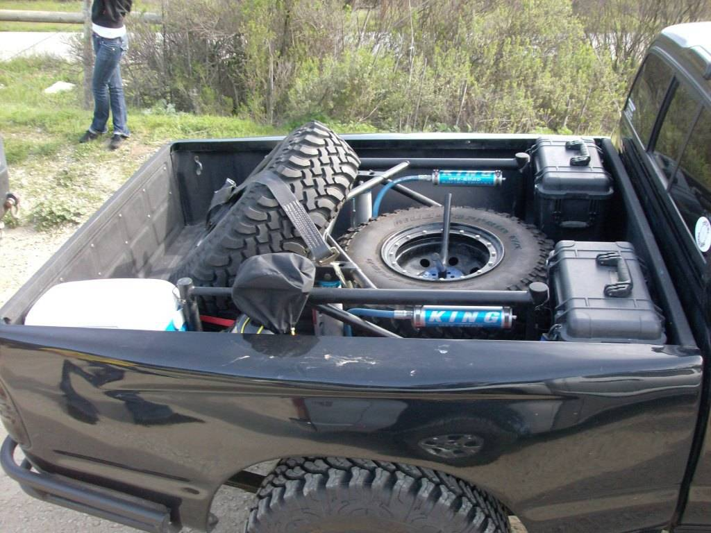 how to put spare tire under ford ranger