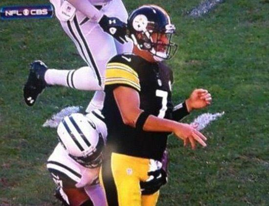 Doesn't make Roesthlisberger gay!