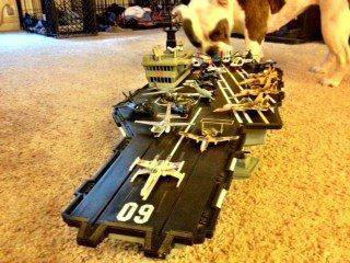 Sweet GI Joe USS Saratoga I picked up last night.