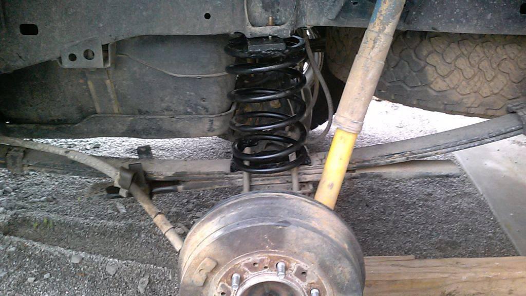 Redneck Pools will ruin your truck's suspension ...