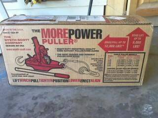 Just got in my 3 ton power puller from the Wyeth~Scott Co! :D 35' of A