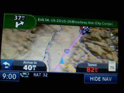 :woot: Almost to Boise!