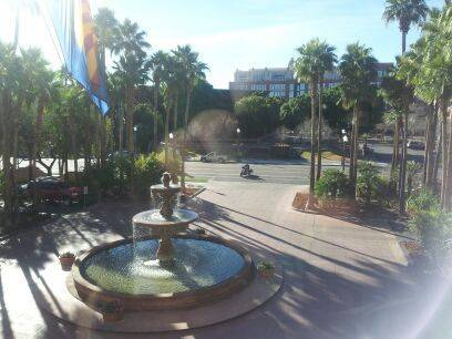 Tempe is nice right now. :D