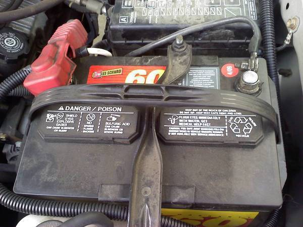 Upgrading The Ground Cable On Battery Tacoma World