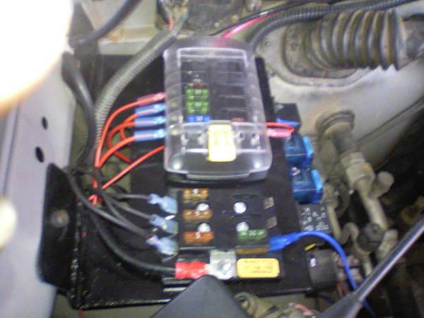 0303131420 fuse box ballast mounting idea help tacoma world