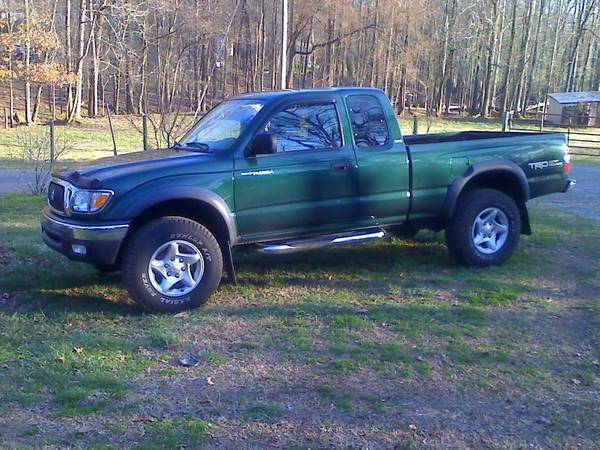 my green '02 tacoma