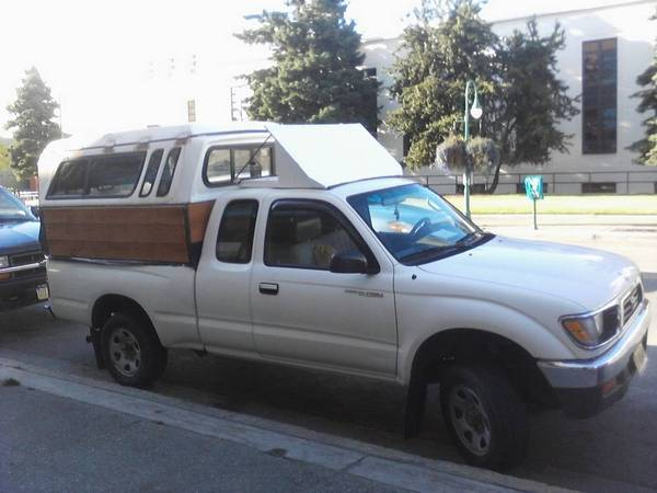 Homemade Camper Shell http://www.tacomaworld.com/forum/general-automotive/111462-better-gas-mileage-mod.html