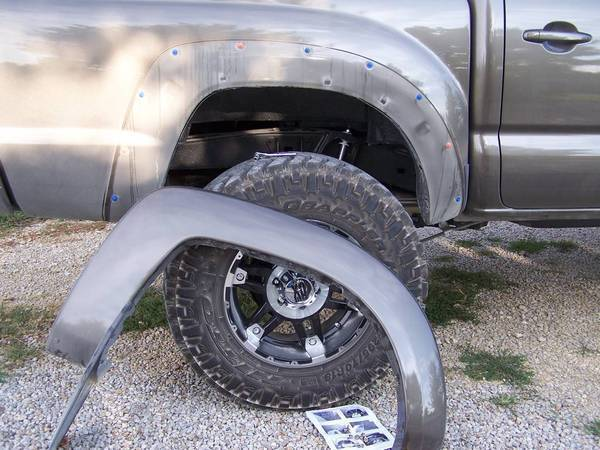 100_3447 diy bushwacker fender flare installation tacoma world  at mifinder.co