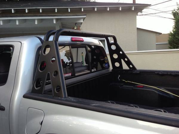 Roll Bar Installed