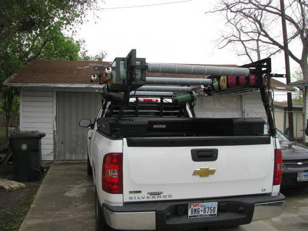 Custom rack (company truck)