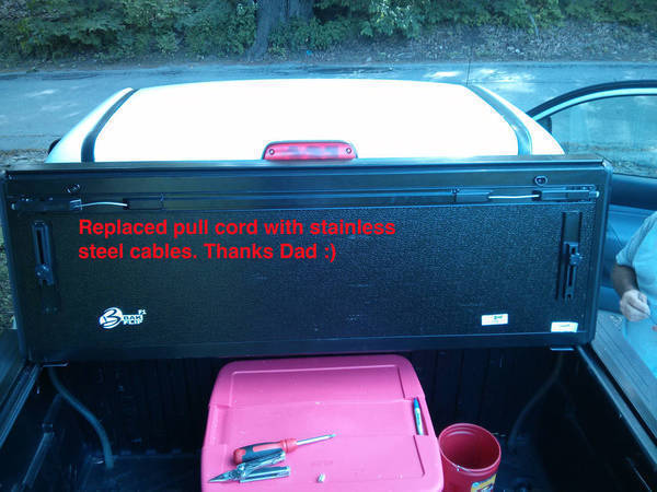 BakFlip F1 Tonneau Cover Repair