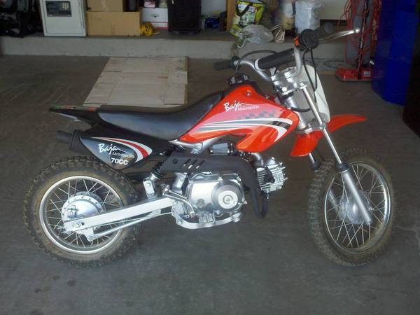 Fs baja motorsports 70cc dirt bike like new tacoma world these are really fun little chinese dirtbikes and great for kids to learn how to ride sciox Gallery