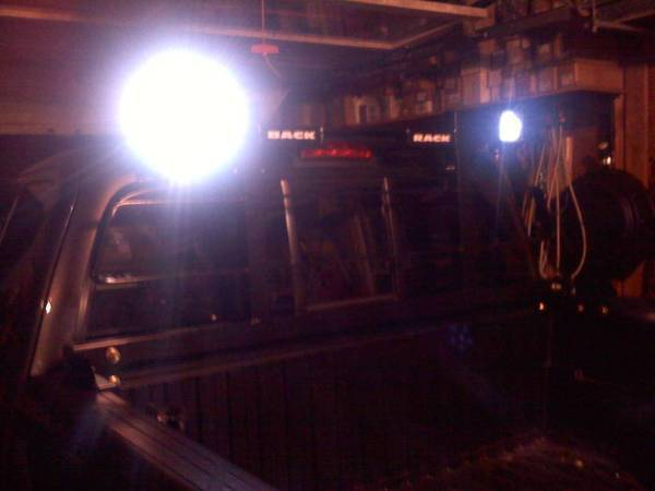 back rack lights