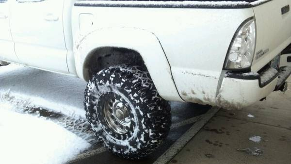 These tires Rock in Snow