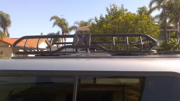 Rhino Roof Basket new low profile mount