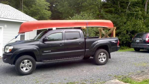 Transporting A Canoe Tacoma World