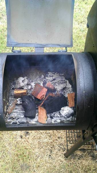 Lump Charcoal and Mesquite Wood Chunks
