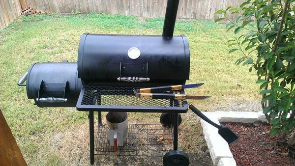 BBQ Galore Side Box Smoker