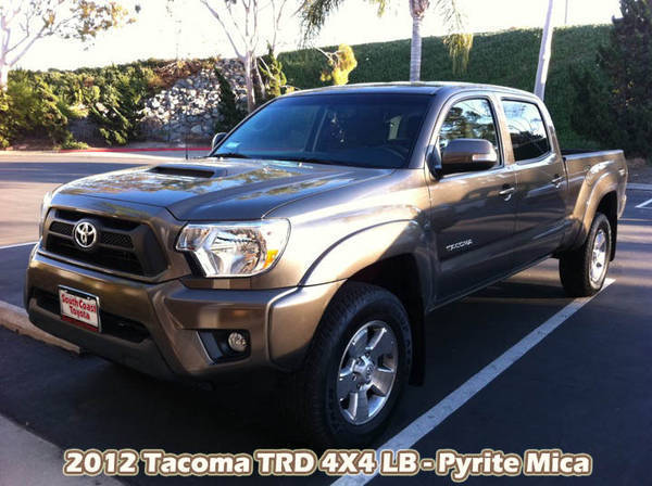 Tacoma 2012 TRD 4X4 Long Bed - Pyrite Mica DBL CAB