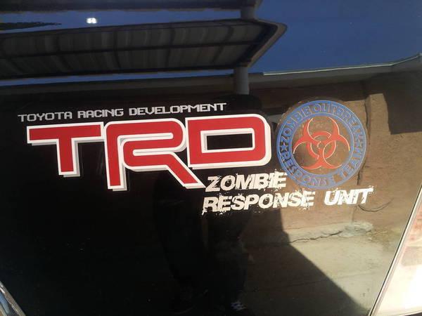 trd zombie response sock monkey