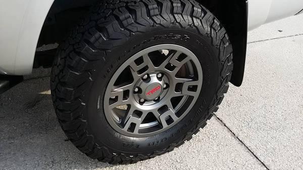 17 Trd Pro Sema Wheels Tacoma World