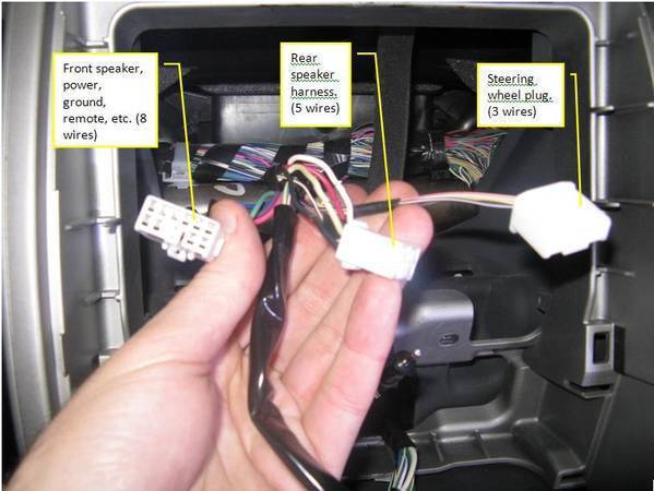 Eclipse avn wiring harness diagram images