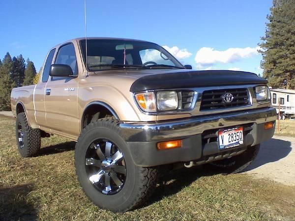 1999 toyota tacoma 4x4 tire size