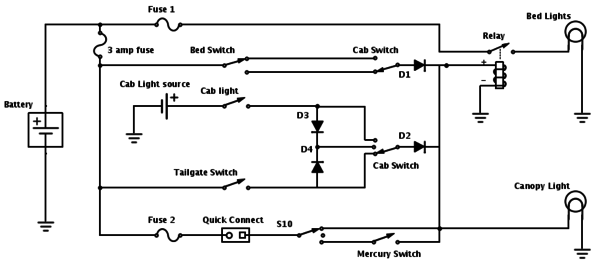 bed light wiring help tacoma world
