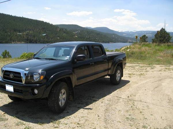 My truck at Nederland, CO Reservoir