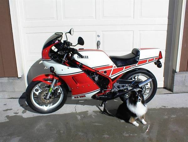 1985 Yamaha RZ-350, kenny Roberts w/ Full Fairing