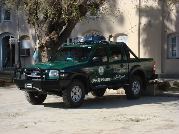 Ford Ranger In Afghanistan