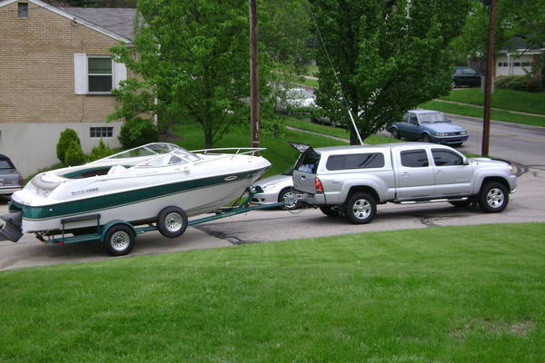 Re: New to boating with towing questions