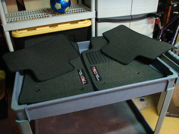 TRD floor mats