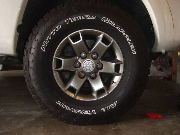 Nitto Tires With White Lettering >> White Lettering On Nitto Terra Grapplers Tacoma World