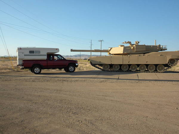 Tank vs Toyota