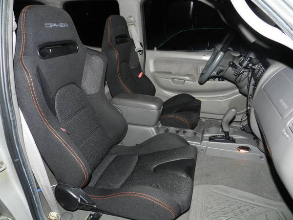 Anyone swap to better bucket seats in their Tacoma Help I hate