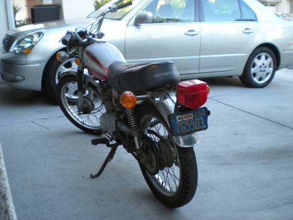 1973 Honda CL125S