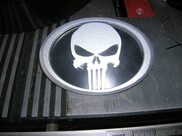 Punisher emblem finished