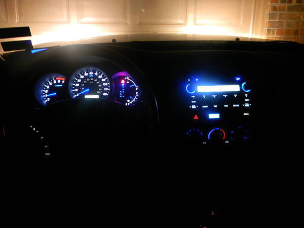 dash led swap