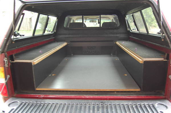 Truck Bed Sleeping Platform Kits for Pinterest