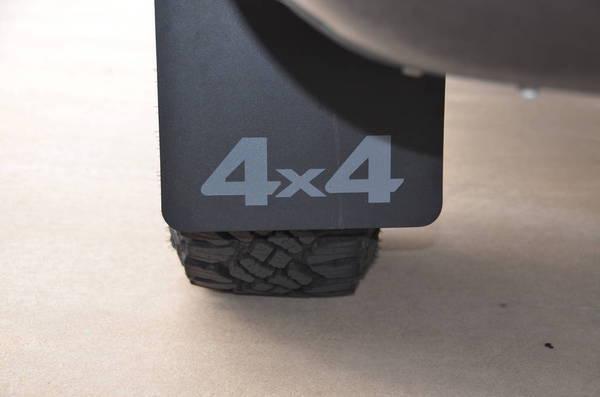 Proven Design Mudflaps Grey 4x4