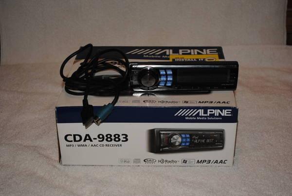 Alpine cda 98bluetooth adapter