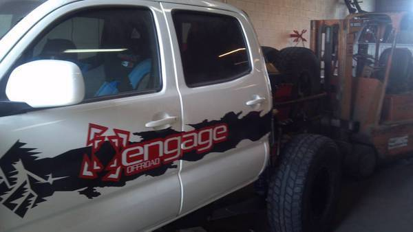 Engage Off Road GenII Double Cab Tacoma 4 Link Kit