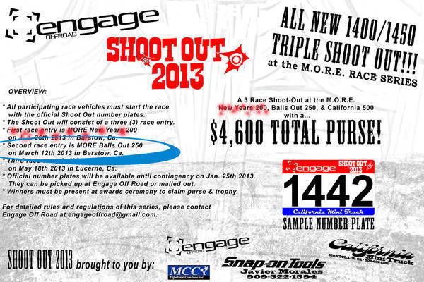 EngageOffRoad/MORE Triple Shoot Out 2013 Second Race
