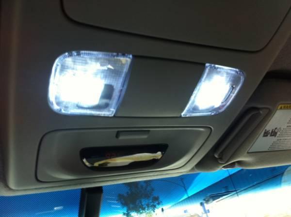 Hid Interior Lights