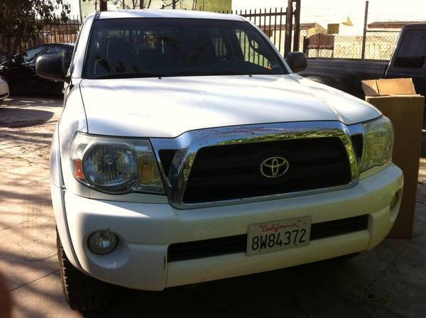 Before new color-matched grille from 2011 Tacoma and BHLM