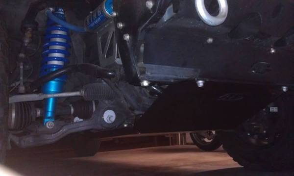 Allpro IFS Skid plate Installed