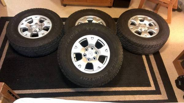 4 TRD O/R Wheels+Tires ($500)- El Paso/Cruces | Tacoma World