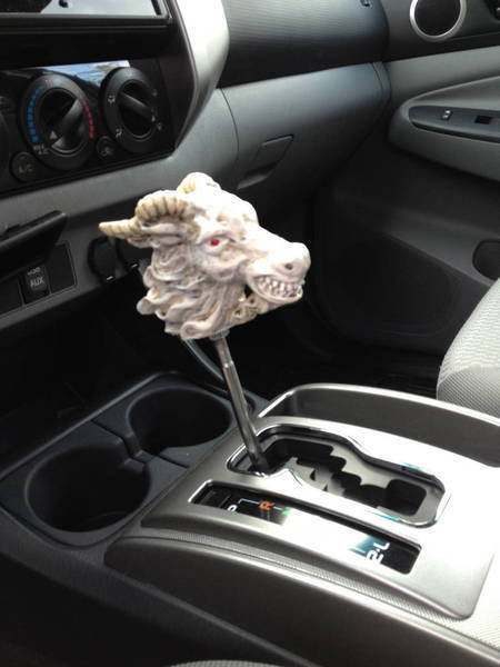 Taz the Goat shift knob